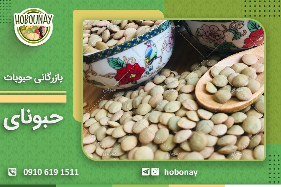تولیدکنندگان عدس فله در بازار ایران